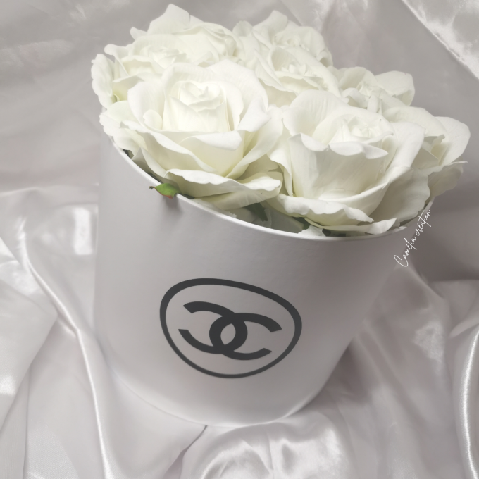 "Flowers box ""chanel"""